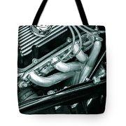 Black Cobra - Ford Cobra Engines Tote Bag