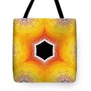Black Cube Tote Bag
