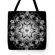 Black Diamond Princess Pendant Tote Bag