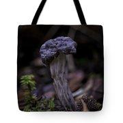 Black Elfin Saddle Tote Bag