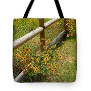 Black Eyed Susans In A Wildflower Meadow Tote Bag