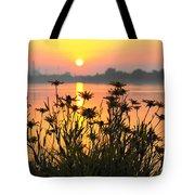 Black-eyed Susans Sunrise Tote Bag