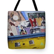 Black Family Reunion Mural Tote Bag