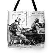 Black Friday Cartoon, 1873 Tote Bag