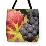 Black Grapes Tote Bag