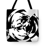 Black Gravity Tote Bag