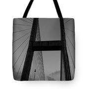 Black H Tote Bag