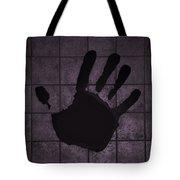 Black Hand Pink Tote Bag