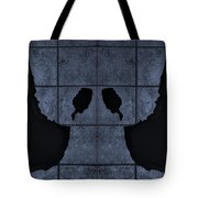 Black Hands Cyan Tote Bag