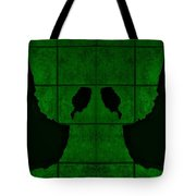 Black Hands Green Tote Bag