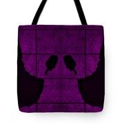 Black Hands Purple Tote Bag