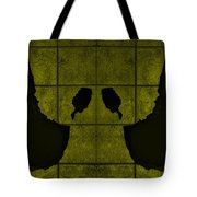 Black Hands Yellow Tote Bag