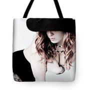 Black Hat Tote Bag