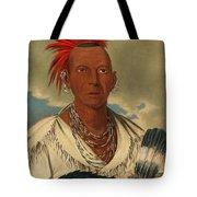 Black Hawk. Prominent Sauk Chief. Sauk And Fox Tote Bag