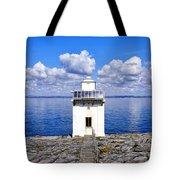 Black Head Lighthouse Tote Bag