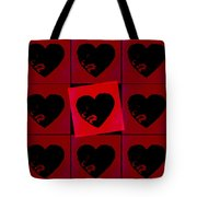 Black Hearts Tote Bag