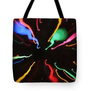 Black Hole Abstract Tote Bag