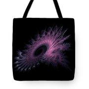 Black Hole Expanding Fractal Art Tote Bag