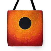 Black Hole Sun Original Painting Tote Bag