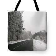 Black Ice Tote Bag