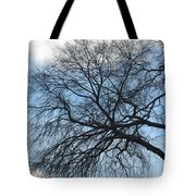 Black Lightning Tote Bag