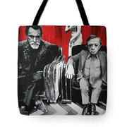 Black Lodge Tote Bag by Ludzska