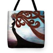 Black Magic Woman Tote Bag