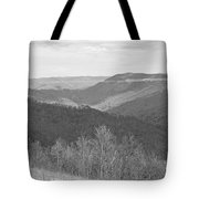 Black Mountain - Kentucky Bw Tote Bag