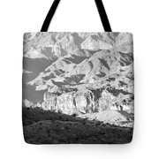 Black Mountains Of Arizona Tote Bag