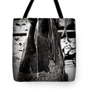 Black N White Chaps Tote Bag