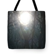 Black On Sun   Tote Bag