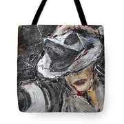 Black Or White Tote Bag