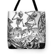 Black Plague, 1493 Tote Bag