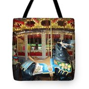 Black Pony Tote Bag
