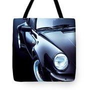 Black Porsche Turbo Tote Bag