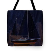 Black Princess Tote Bag