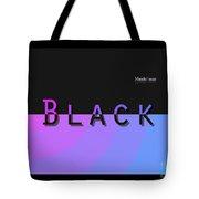 Black Rainbow Pink Tote Bag
