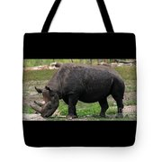 Black Rhino-19 Tote Bag