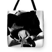 Black Rose Tote Bag