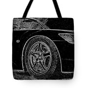 Black S2000 Tote Bag