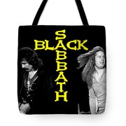 Black Sabbath 1978 Tote Bag