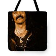 Black Sabbath #46 Enhanced In Amber Tote Bag
