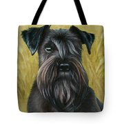 Black Schanuzer Tote Bag