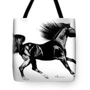 Black Speed Tote Bag
