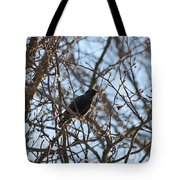 Black  Starling Tote Bag