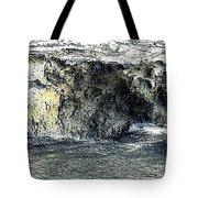 Black Surf Tote Bag