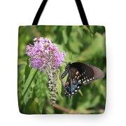 Black Swallowtail Tote Bag