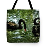 Black Swan Ballet Tote Bag