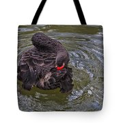 Black Swan Gladys Porter Zoo Texas Tote Bag