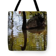 Black Swan Series Iv Tote Bag